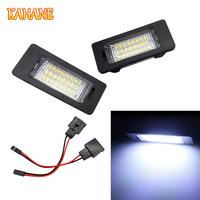 2pcs LED License Plate Light Lamp 18 SMD LED License Plate Light Lamp White Light For