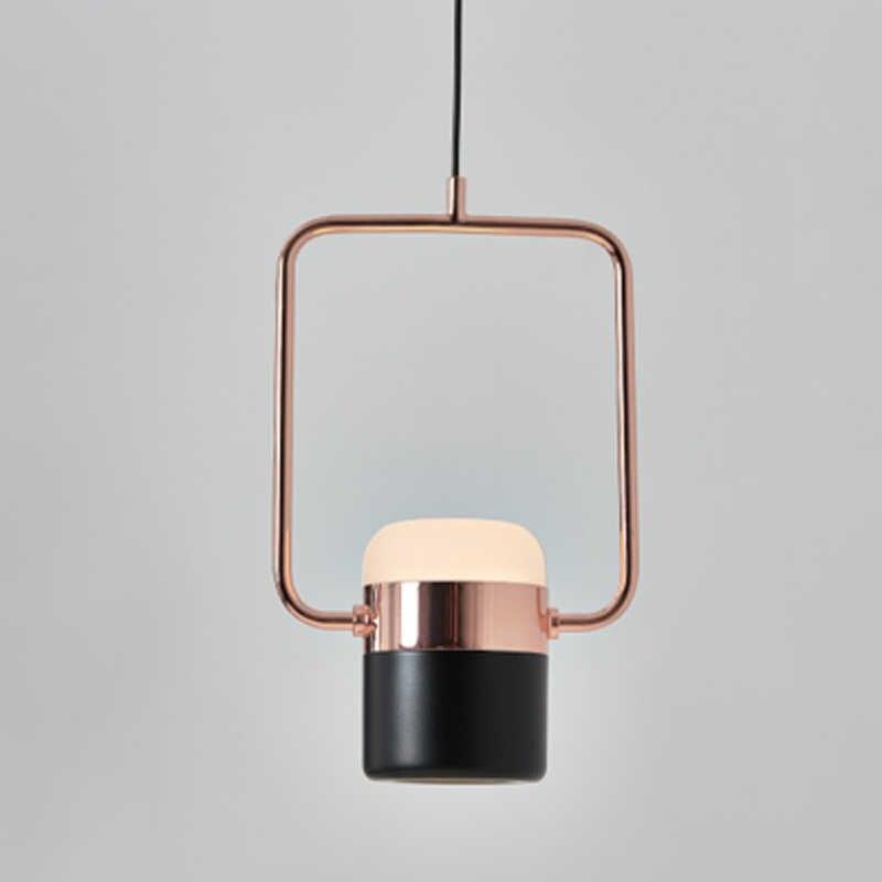 Luces colgantes LED modernas dormitorio sala de estar minimalista restaurante lámpara colgante accesorios ropa nórdica decoración bote Luz