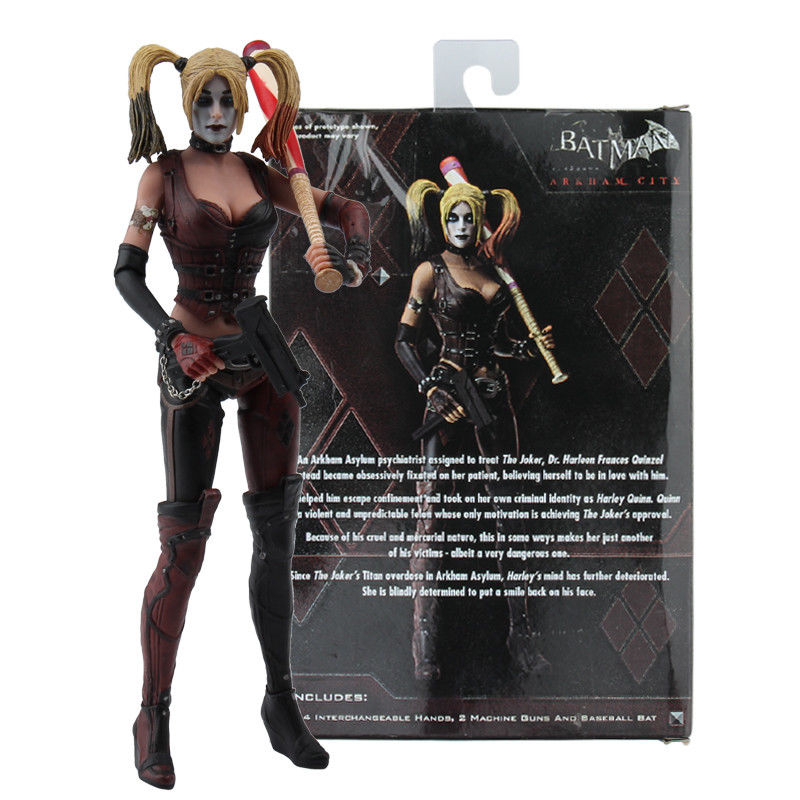 7 Suicide Squad Harley Quinn PVC Action Figure Collectible Model Toy 18cm pop Figures All with Original Box Birthday gift assassin creed altair player 7 pvc action figures low price toys for boys birthday gift with box ck0003