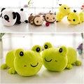 Frog/panda/Duck/monkey doll Christmas present Kids Toys 15cm Cute Car Sucker Pendant Doll Stuffed Bamboo Animals Plush Toys