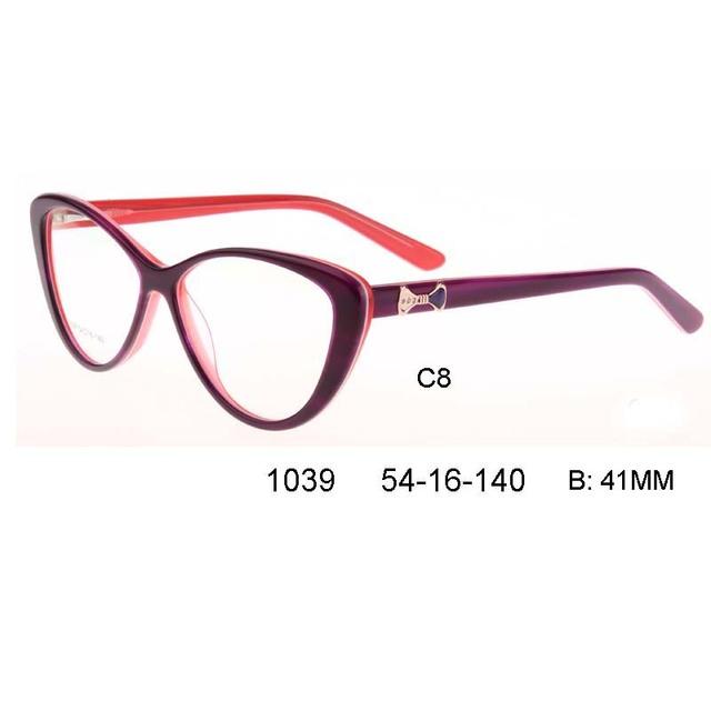 Mulheres Armações de Óculos olho de gato Elegante marca designer Armações de Óculos de Computador Oculos de grau óculos de grau femininos Monturas
