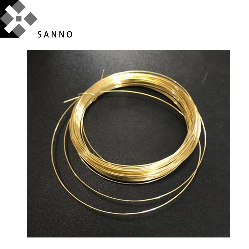 Brass slick H62 high purity copper wire D0.5mm D3mm length 10m Cu metal wire for conducts electricity
