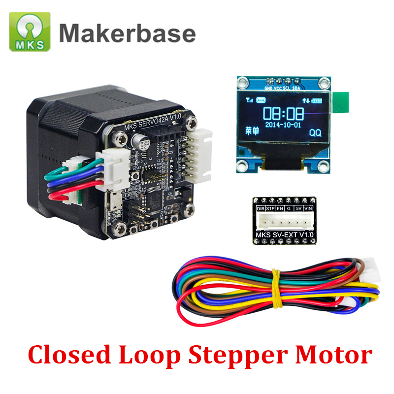 3D Printer Open Source Closed Loop Stepper Motor NEMA17 MKS SERVO42 for MKS Gen L Prevents Losing St