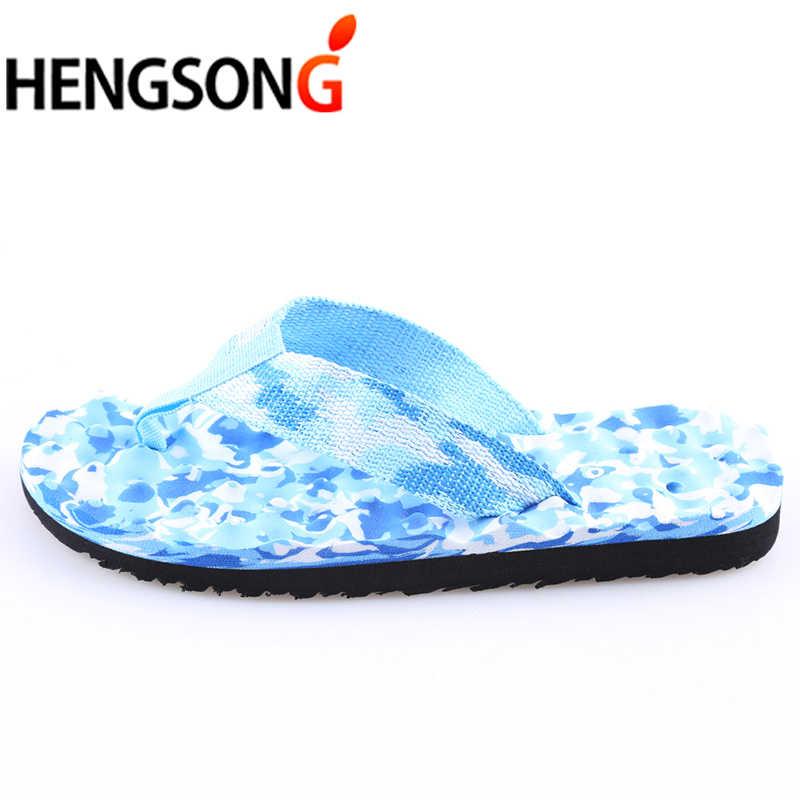 Lover kadınlar kamuflaj Flip flop terlik ayakkabı sandalet terlik kapalı açık rahat erkekler kaymaz plaj ayakkabısı sapato masculino