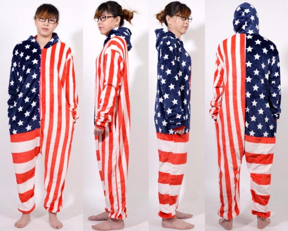 Warm Flannel Pajamas for Women Pajama Couples Cartoon Sleepwear Adult Animal Onsies Pijama Adult Unicorn Panda Stitch Pijamas