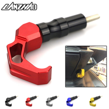 Motorcycle Luggage Hook Travel Sport Helmet Gear Holder CNC Aluminum Scooter Accessories for Yamaha Aerox 155 NVX155 2017 2018