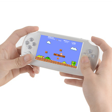 Portable 8GB Video Games Consoles 4.3″ Children Handheld Gaming Player MP4 MP5 Multimedia player Support For GBA SMD NES Games