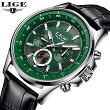 Montre hommes LIGE mode Sport Quartz horloge hommes montres Top marque luxe affaires étanche militaire montres Relogio Masculino