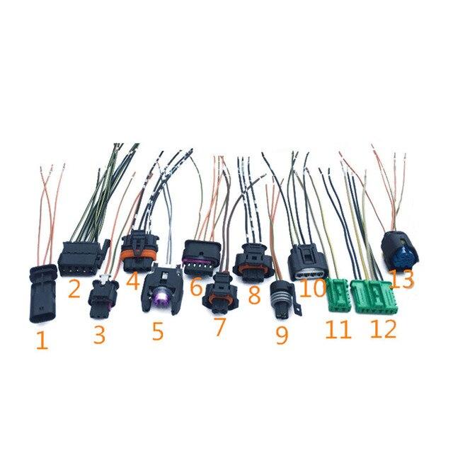 1pc car nitrogen oxygen sensor plug harness connector sockets for rh aliexpress com