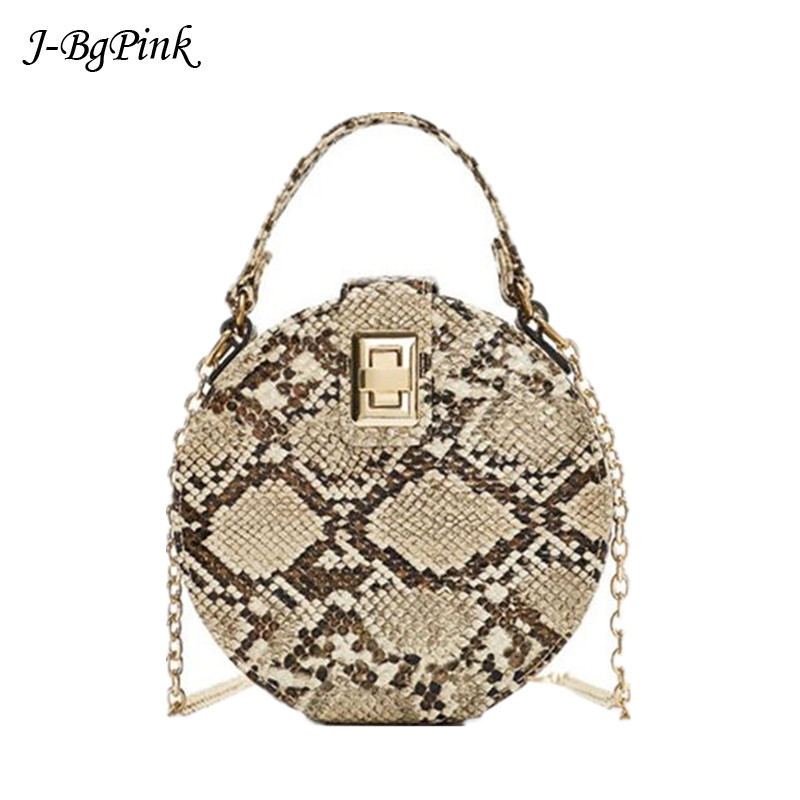 luxury brand snake skin round print, fashion bags snake pattern women handbags handbag lady crocodil handbags circle clutch