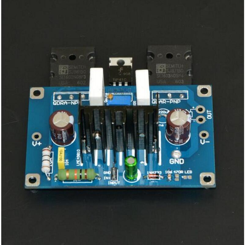 Standard 2 LME49810 push high power tube class B amplifier official  standard line effect board diy kit not include IC A3 009-in Amplifier from