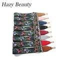 Hazy beauty  New fabric women handbag guitar strap bohemian stylish bag stripe fashion slogan girls shoulder bag belts hot SS163