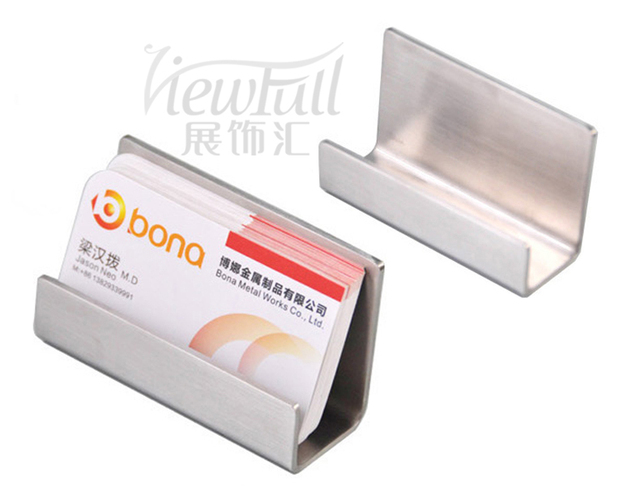 Unique design metal name card display stand for business card unique design metal name card display stand for business card display bn 1705ss colourmoves