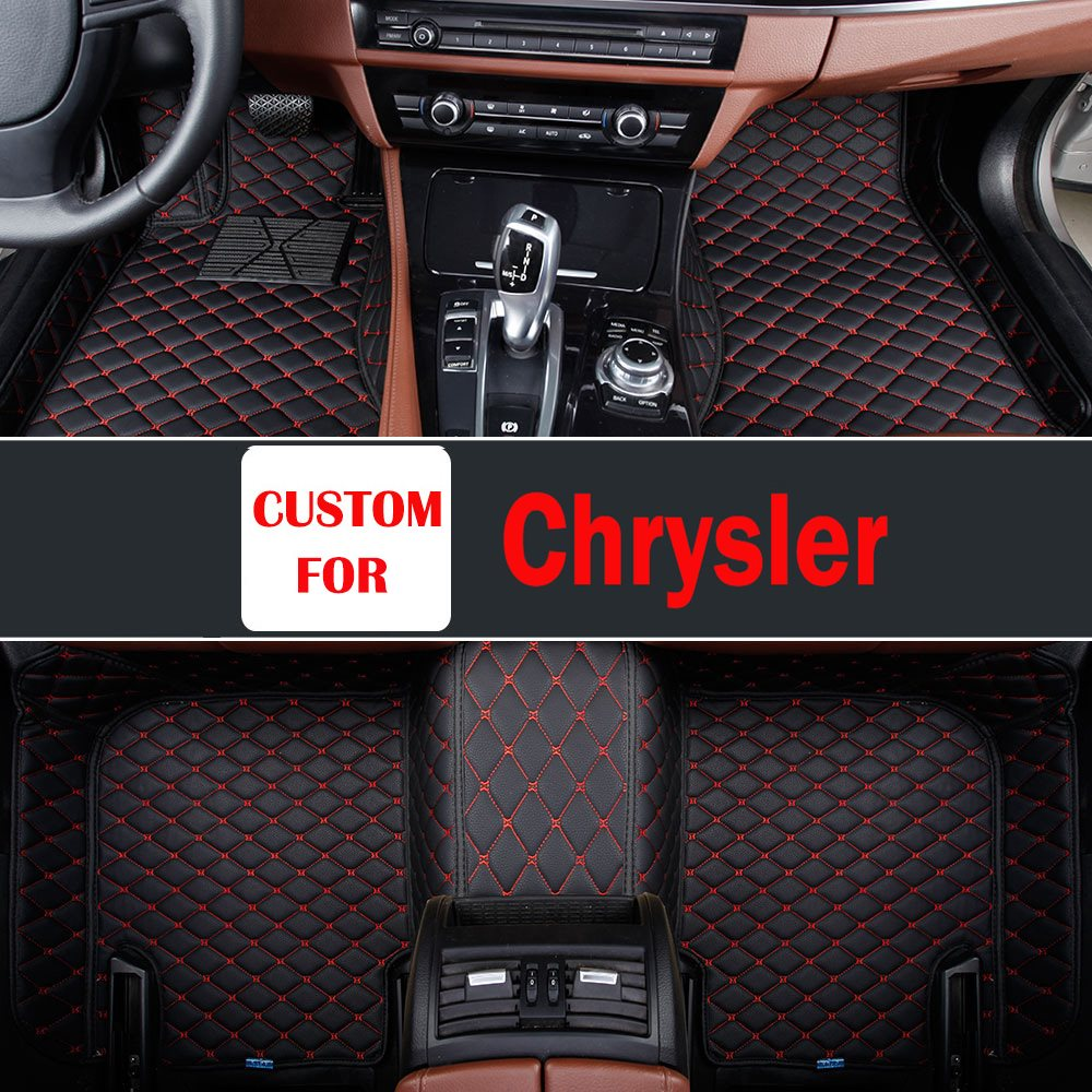Custom Carpet Car Floor Mats For Chrysler 300c Grand Voyager Sebring Car Carpet Auto Car Styling Heavey Duty Carpet Floor Liner цена