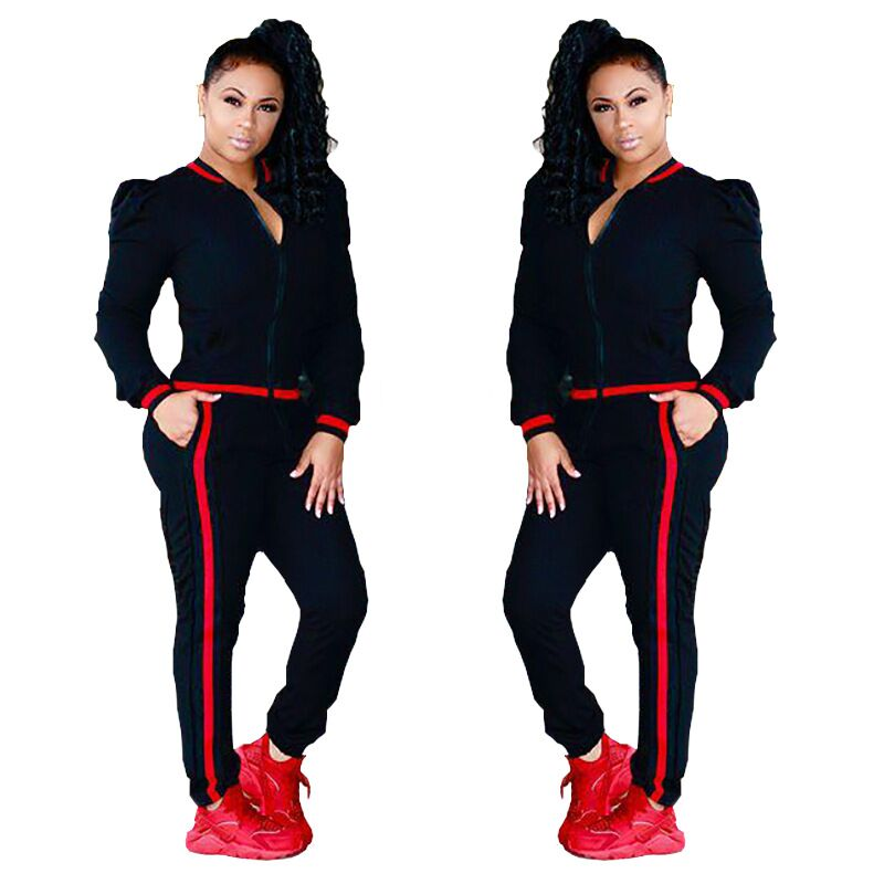 CFYH 2018 Women Two Piece Set Female Winter Tracksuit Knitted Hoodies Top + Pants Ladies Long Sleeve Outfit Femme Sporting Suits