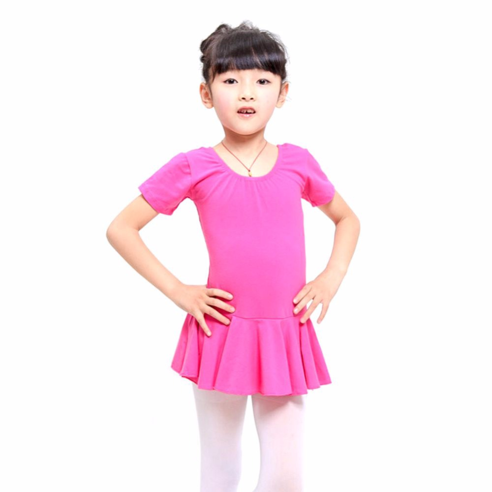 Hot 4-12Y Kid Girls Leotard Gymnastics Ballet Dance Dress Dancewear new girls ballet costumes sleeveless leotards dance dress ballet tutu gymnastics leotard acrobatics dancewear dress