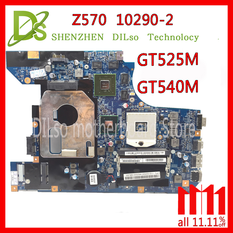 KEFU 10290-2 LZ57 MB original motherboard for Lenovo Z570 Laptop motherboard Z570 motherboard GT540M/GT525M Test все цены