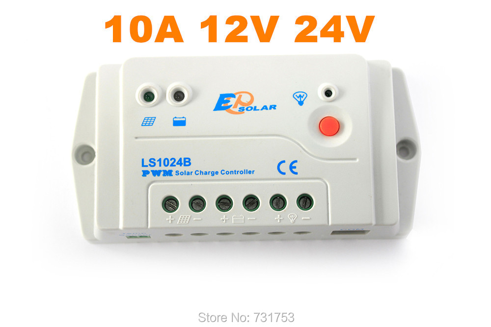 ФОТО MAYLAR@ 10A 12V 24V Auto LS1024B Landstar Programmable Solar Charge Controller,1024B Solar Regulator RS-485 Bus Communication