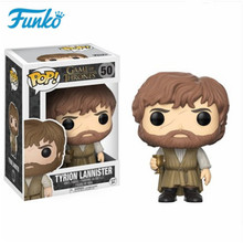 цена FUNKO POP Game of Thrones # 50 Tyrion Lannister Imp Halfman Vinyl Doll Action Figures Toys Kids Friends Birthday Model Gift онлайн в 2017 году