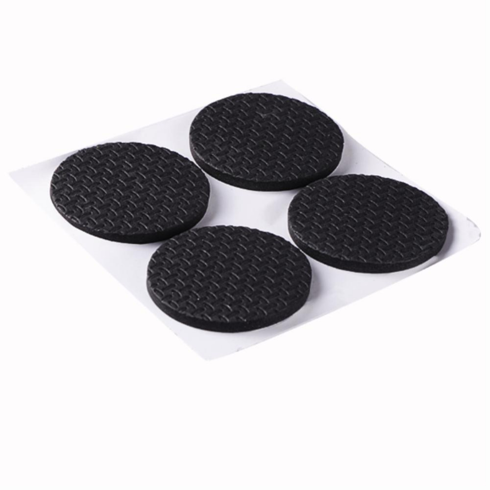 WITUSE Furniture Scratch Pad Circle Self Adhesive Protector Floor Chair Table Legs`