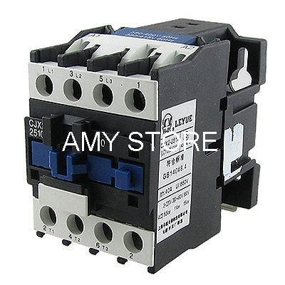 US $29 25 |Aliexpress com : Buy CJX2 2510 Motor Control AC Contactor 3  Poles One NO AC 3 11Kw 380V Coil from Reliable control choice suppliers on