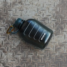 Бутилированной радость Военная фляга Бутылки для воды для приготовления пищи на воздухе Отдых бутылка питьевой воды 1000 мл