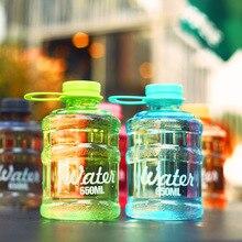650 ml Botella de Agua De Plástico Irrompible Botella De Los Deportes Botella Portátil de Bicicletas Ciclismo Mi Creatividad SIN BPA