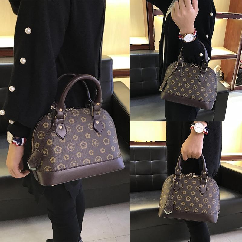 New Fashion Luxury Women Bag Shell Zipper Handbag Quality Bag Tote Lady Fashion Pillow Pack Female Messenger Bags