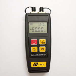 Image 2 - Free Shipping Mini Fiber Tester Optical Power Meter with Visual Fault Locator OPM VFL 50mw 30mW 10mW 1mW Fiber Optic Laser
