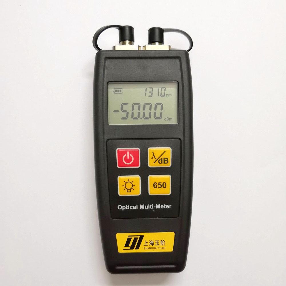 Image 2 - Free Shipping YJ 550C Mini Fiber Optical Power Meter with Laser Source Visual Fault Locator VFL 50mw 30mW 10mW 1mW Fiber ToolFiber Optic Equipments   - AliExpress