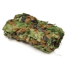 7X1.5 m Woodland Camuflaje Camo Net Para Acampar Militar Caza Fotografía malla sombra Coche Tienda-cubiertas Dom Refugio