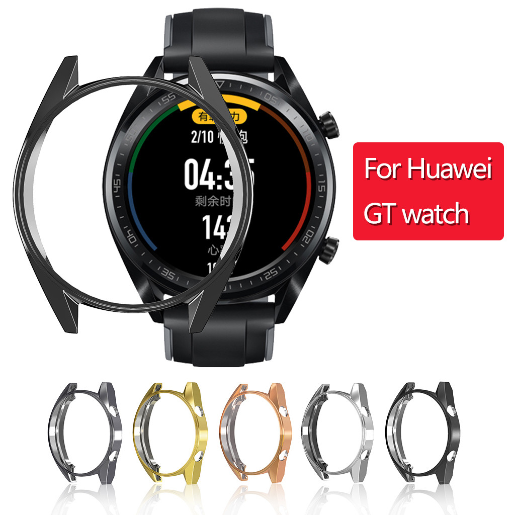 Cover Protector-Frame-Shell Case Huawei Watch Ultra-Slim TPU 1PCS for GT Electroplate