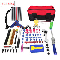 PDR KING Tools Kit Dent Removal Paintless Dent Repair Tools Car Dent Repair Straightening Dents Instruments DIY PDR KING kit