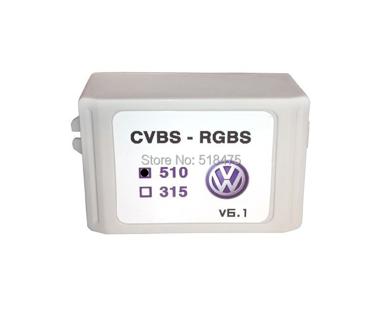New Upgrade V9.3 Rear view Camera CVBS AV to RGB Converter Adapter Adaptor For VW Volkswagen RCD510 RNS510 RNS315 Golf passat car usb sd aux adapter digital music changer mp3 converter for volkswagen beetle 2009 2011 fits select oem radios