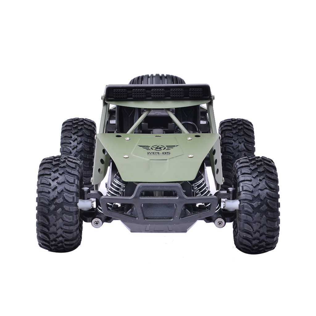 Image 5 - 2019 Remote control car toy BG1527 2.4G 1/16 4WD Military Truck Off road Climbing Alloy RC Car RTR Remote control car toy-in RC Cars from Toys & Hobbies