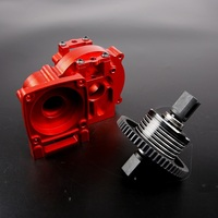 CNC Alloy Middle Diff Gear Kit Gearbox Transmission Box FOR Rovan TRUCK 1 5 LT Losi