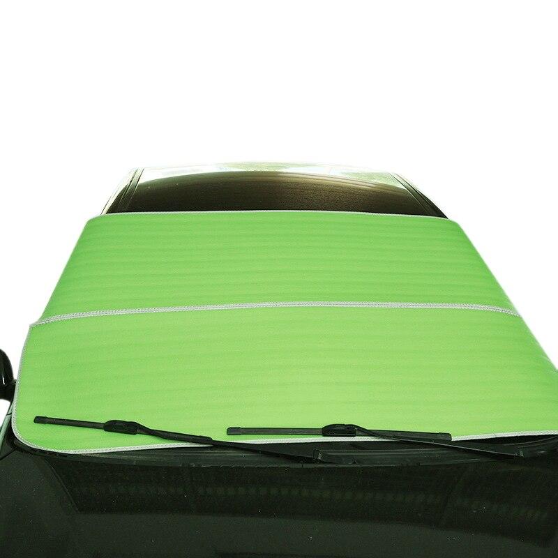 Avant de la voiture Pare-Brise Parasols De Voiture-Styling Auto Neige Sun Shades Couvercle Étanche Protection Nouveau Automobiles Accessoires Extérieurs