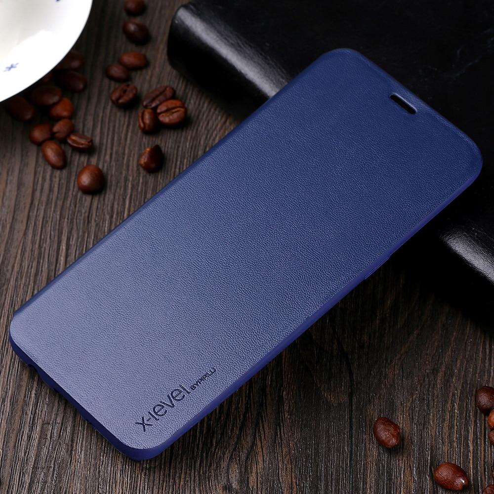 Luxury Kasus Untuk Samsung Galaxy S8 Plus Mode Ultra Tipis Kulit - Aksesori dan suku cadang ponsel - Foto 4