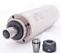 2.2KW Water Cooling Spindle Motor Engraver Spindle motor 80mm for CNC Router Mill Machine 220V