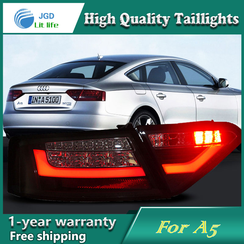 Car Styling Tail Lamp case for Audi A5 Tail Lights LED Tail Light Rear Lamp LED DRL+Brake+Park+Signal Stop Lamp 2pcs 12v 31mm 36mm 39mm 41mm canbus led auto festoon light error free interior doom lamp car styling for volvo bmw audi benz