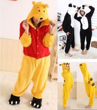 82422cc154 Unisex Adult Sleepwear Party Cosplay Animal pajama Onesies Pyjama Sets  Nightgown Cartoon Pikachu Stitch