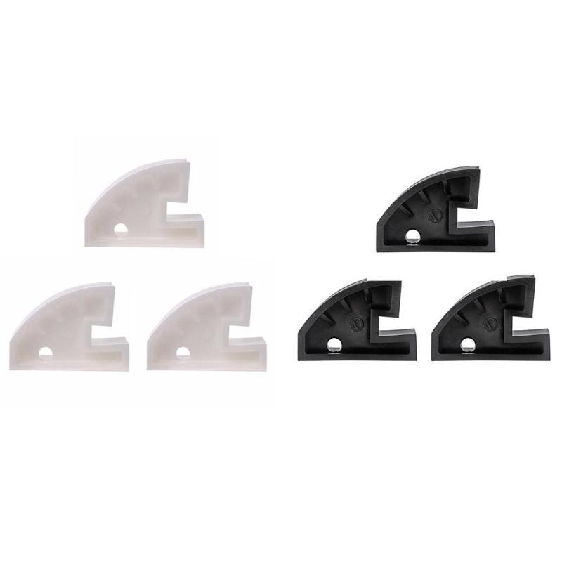 3 pcs Nylon Perle de Baisse Center Abaisse la Roue De Serrage Jante Roulage À Plat Changeur De Pneu Noir Blanc Pneu De Voiture Fixation Pince outils de Réparation De pneus