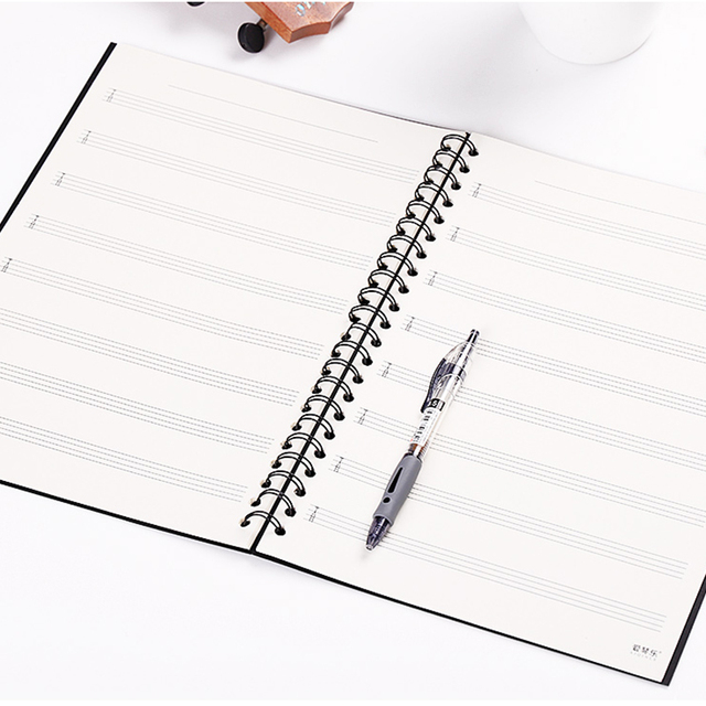 40 Pages Music Exercise Books