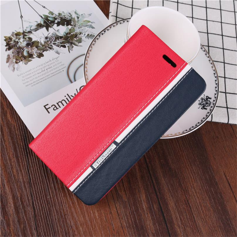 New Case For Samsung Galaxy S8 Mixed Color Wallet Style Flip Leather Case Stand Function with Card Slots for Galaxy S8 Case