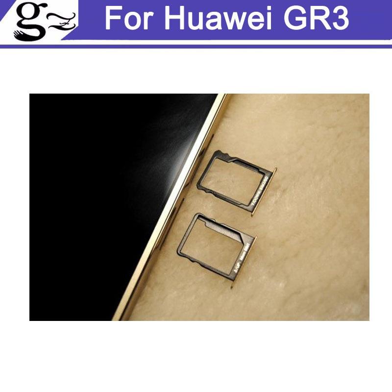 Для Huawei gr3 5.0 дюймовый новый оригинальный SIM держатель для карт лоток Слот для карт для Huawei гр 3 SIM держатель для карт