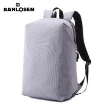 الرجال حقيبة كمبيوتر محمول 15 بوصة الكمبيوتر الظهر الذكور رمادي أكياس Daypack حقيبة النساء السفر حقيبة Mochila YS1572