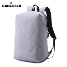 Men Laptop Backpack For 15 inch Computer Backpacks Male Gray Bags Daypack Women Travel Bag Mochila YS1572