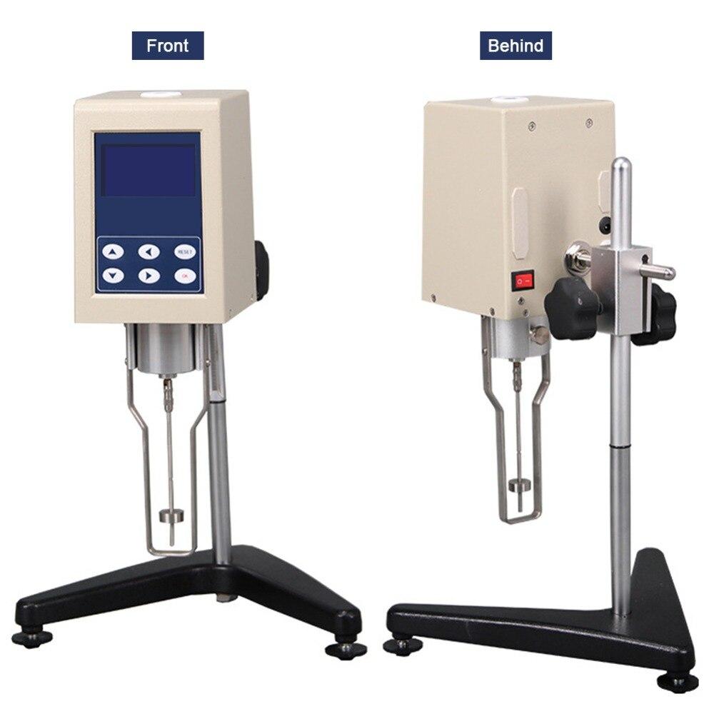 Portable Rotational Viscometer For Oil Paint Plastic Tester Digital Viscosity Meter Sesting Equipment NDJ 8S Viscometer