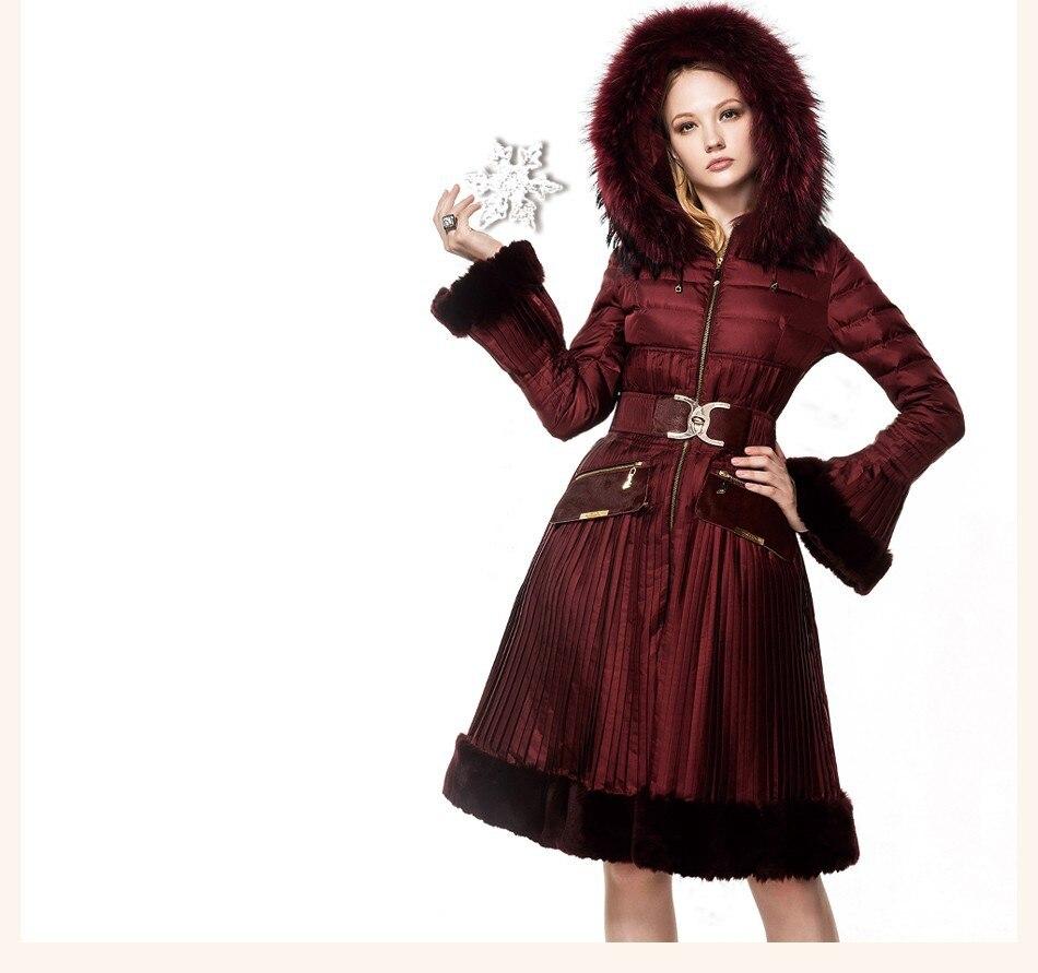 Raccon Casaco & Baixos Jaquetas Outwear Casaco de Pele de Coelho casacos 15