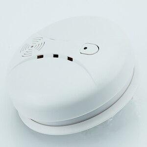 Image 4 - Freies Verschiffen! 433mhz Nutzung feuer wireless Home Einbrecher Sicherheit Alarm FÜR GSM alarm system NEUE Weiß 8 stücke drahtlose rauchmelder